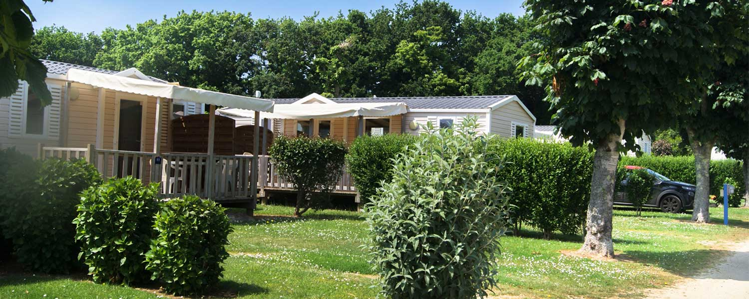 location mobil home camping Kerleyou